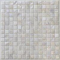 mosaico e piastrella in madreperla per bagno e doccia odyssee-blanc