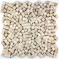 Mosaico in marmo pavimentazione in marmo syg-mp-lul-bei