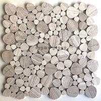 mosaico in marmo per pavimento e parete doccia mp-neferti