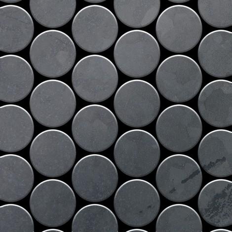 """main image of """"Mosaico metallo solido Acciaio grezzo laminato grigio spesso 1,6 mm ALLOY Medallion-RS"""""""