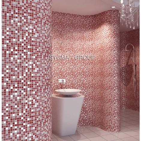 mosaico para ducha pared y suelo mvep-prado