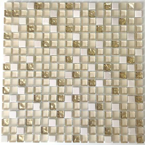 mosaico pavimentale doccia e parete Luxury