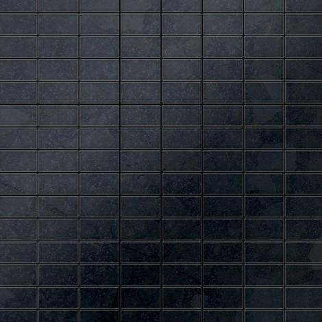 Mosaik Fliese massiv Metall Rohstahl gewalzt in grau 1,6mm ...