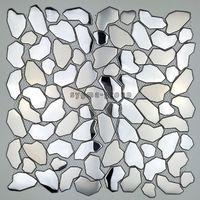 mosaik fliesen aus edelstahl fur boden-und wand dusche syrus-mix
