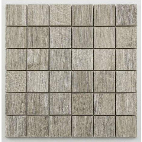Marbre Mosaïque Carreau Blanc /& Gris Mat 30x30x0,8cm pierre naturelle Bianco Carrara