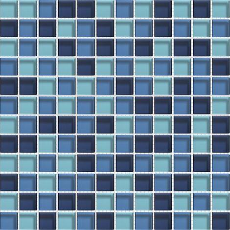 Mosaique Murale Bleu A Prix Mini