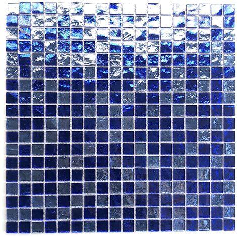 Mosaique en verre pour douche et salle de bain mv-glo-ble