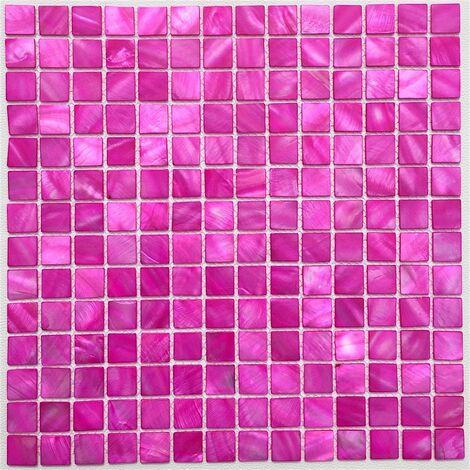 1,5 x 9,8 cm Glasmosaik Carrelage Mosaïque Brilliance Noir 1,5 x 4,8 CM effet