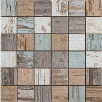 Mosaïque grès cérame Beach House mix - Plaque 29.8 x 29.8cm - Carreaux 4.8 x 4.8cm