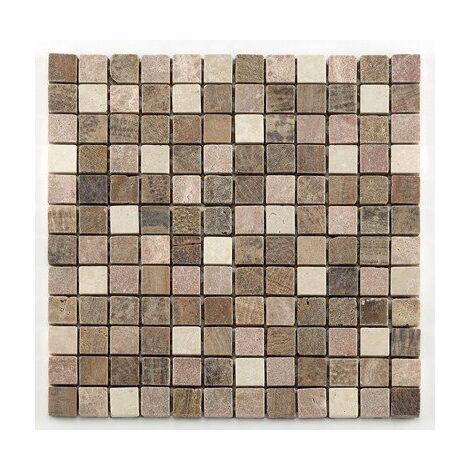 Mosaique marbre beige