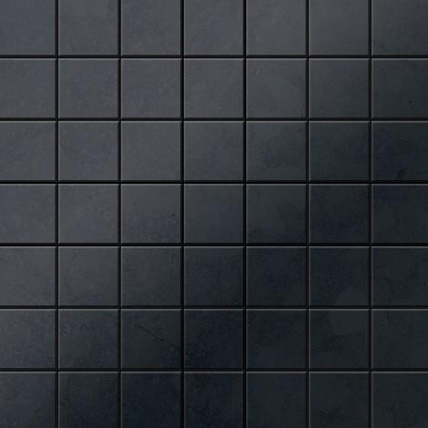 Mosaïque métal massif Carrelage Acier brut laminé gris Grosseur 1,6mm ALLOY Attica-RS 0,85 m2
