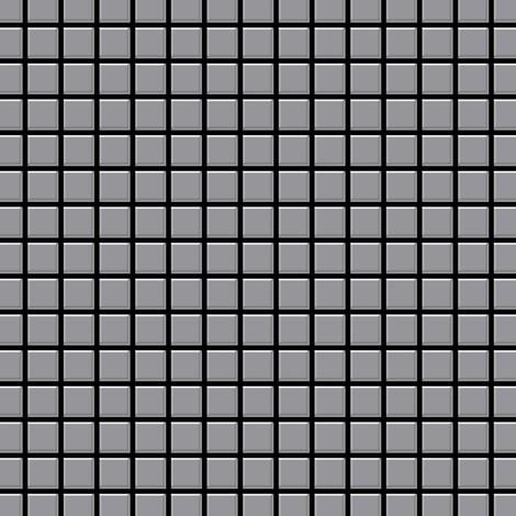 Mosaïque métal massif Carrelage Acier inoxydable matt gris Grosseur 1,6mm ALLOY Mosaic-S-S-MA 1,04 m2