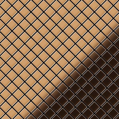 Mosaïque métal massif Carrelage Cuivre laminé cuivre Grosseur 1,6mm ALLOY Diamond-CM 0,91 m2