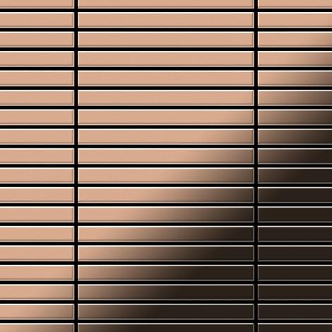 Mosaïque métal massif Carrelage Cuivre laminé cuivre Grosseur 1,6mm ALLOY Linear-CM 0,94 m2
