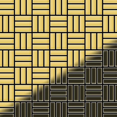 Mosaïque métal massif Carrelage Laiton laminé doré Grosseur 1,6mm ALLOY Basketweave-BM 0,82 m2