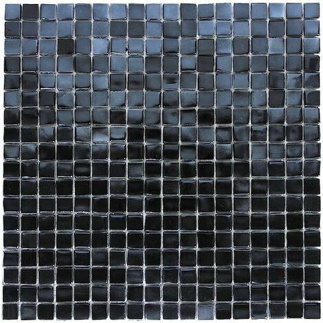 Mosaique pâte de verre Imperial Noir