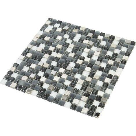 Mosaïque Pierre / Verre - 1.5 x 1.5 cm