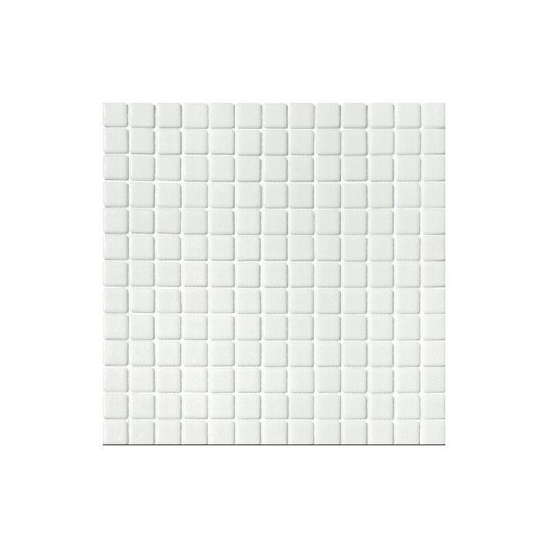 Mosaique pisc e Nieve Blanc antidérapante 3100 31.6x31.6 cm - 1m² - IN