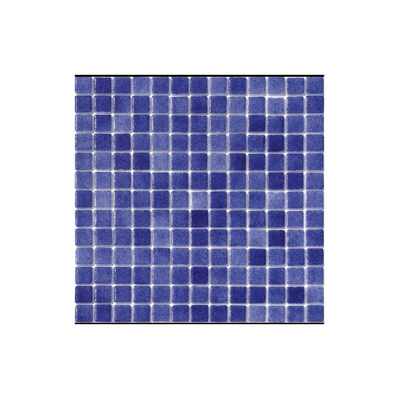 Mosaique pisc e Nieve bleu mar e azul antidérapant 3102 31.6x31.6cm - 1 m² - IN