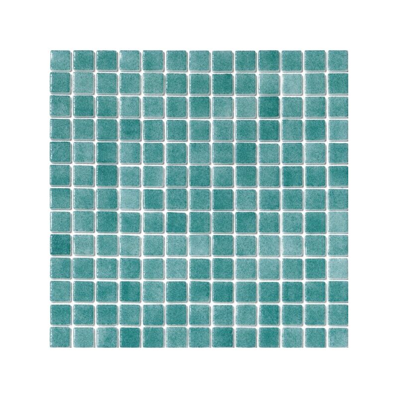 Mosaique pisc e Nieve bleu vert turquoise 3007 31.6x31.6 cm - 2 m² - IN