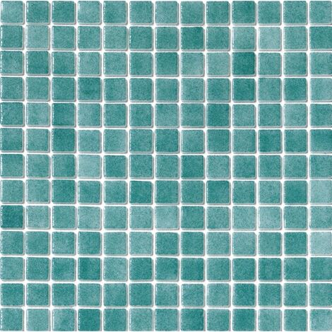 Mosaique piscine Nieve bleu vert turquoise 3007 31.6x31.6 cm - 2 m²