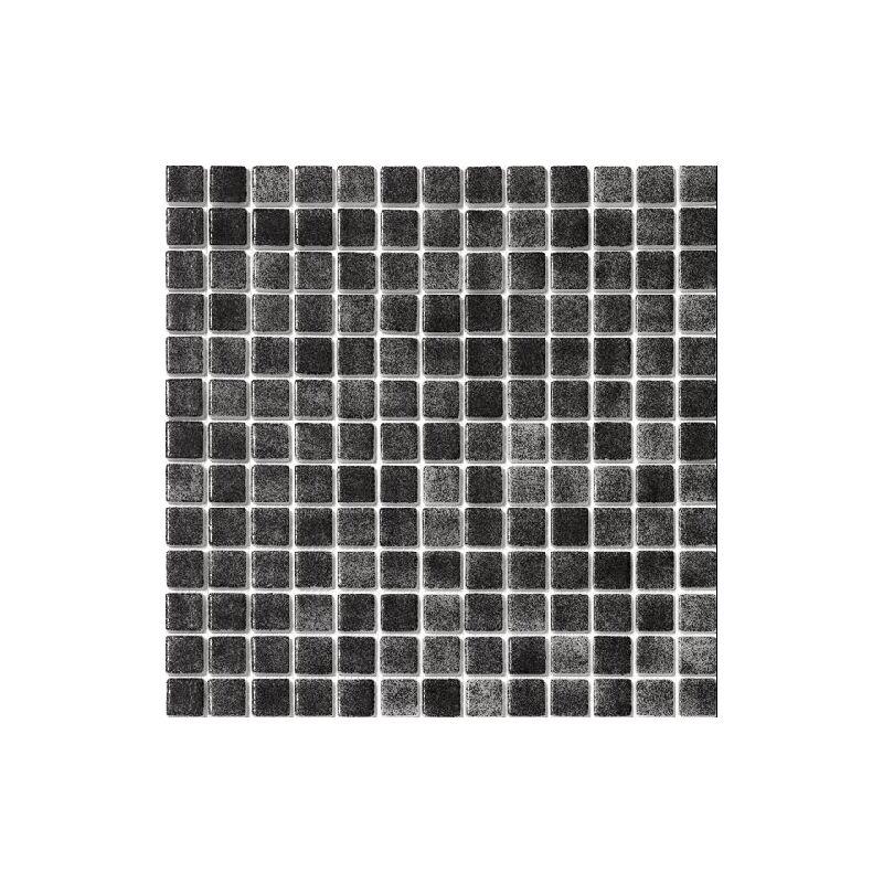 Mosaique pisc e nuancée noir antidérapante 3101 31.6x31.6 cm - 1 m² - IN