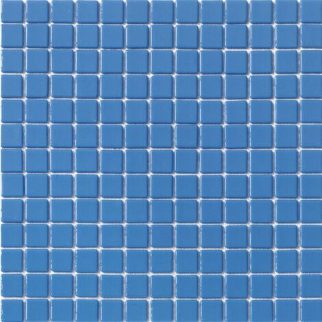 Mosaique piscine unie bleu clair 2005 31.6x31.6 cm - 2 m²
