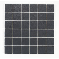 Mosaique rŽsine imitation pierre - coloris gris ardoise anti-dŽrapant