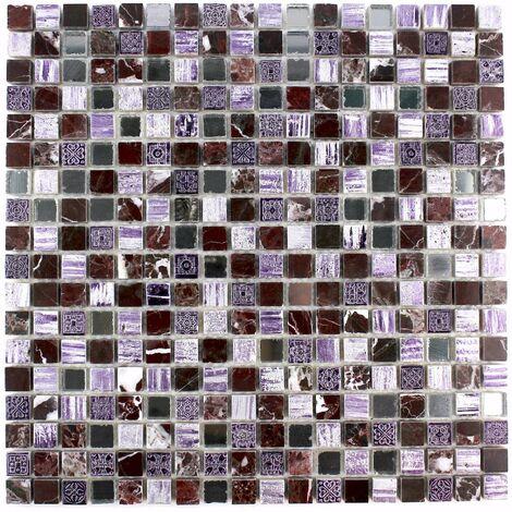 Mosaïque salle de bain en pierre syg-mp-adel