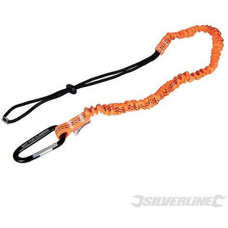 Mosquetón con cuerda de seguridad para sujetar herramientas - NEOFERR