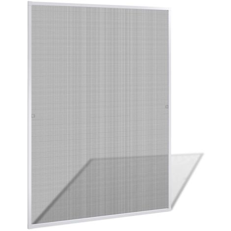 Mosquitera blanca de ventanas, 130 x 150 cm