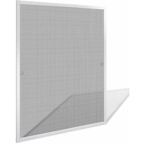 Mosquitera blanca de ventanas, 80 x 100 cm HAXD04034