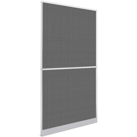 Mosquitera con bisagras para puertas blanca 120x240 cm
