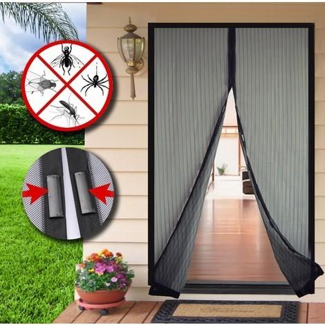 Mosquitera Con Velcro / Iman Negra 100X210Cm - Epid - 602310061022