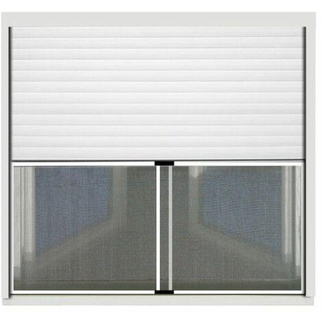 Mosquitera CONFORTEX para persianas - 75 x 100 cm - Blanco - Blanc