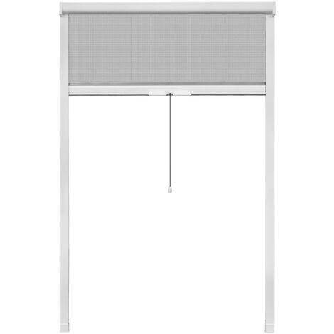 Mosquitera corredera para ventana blanca 120x170 cm
