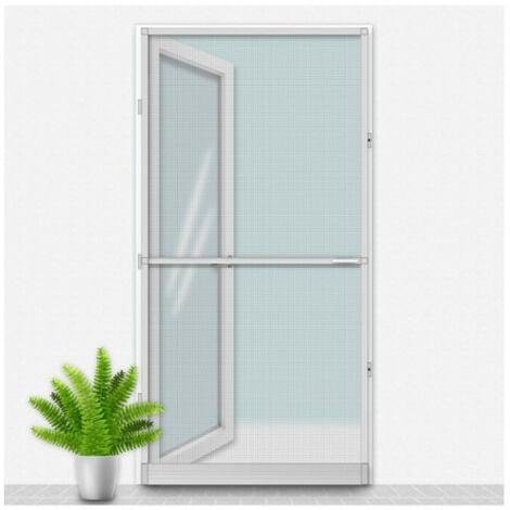 Mosquitera Louisiana CONFORTEX sobre marco de puerta - 100 x 215 cm - Gris - Gris