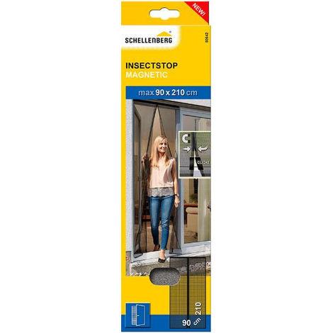 Mosquitera magnética 2 láminas puerta