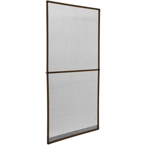 Mosquitera para el marco de la puerta - tela mosquitera con marco de aluminio, mosquitero translúcido para cortar a medida, malla mosquitera transpirable para casa