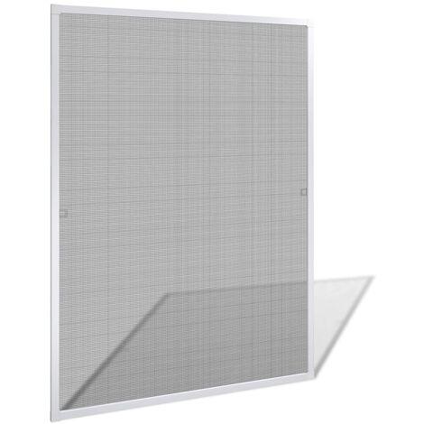 Mosquitera para ventana blanca 100x120 cm