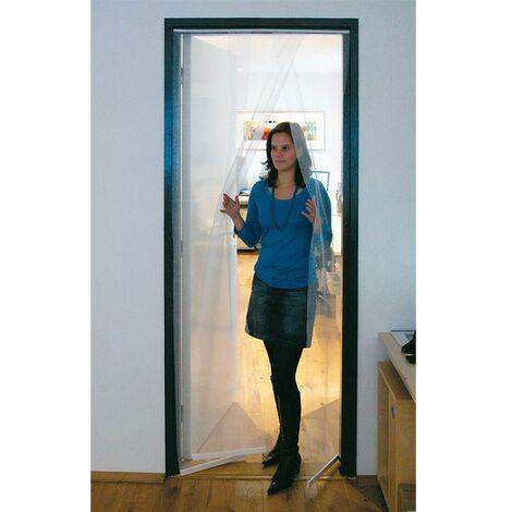 Mosquitera puerta 2 piezas 100x220cm (incluye velcro)