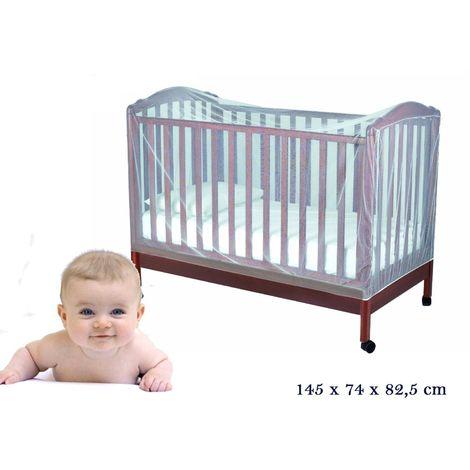 Mosquitera universal para cuna del bebé (145 x 74 x 82,5 cm) MOSQUITO NET