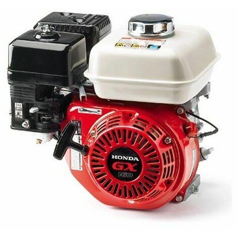 Moteur avec réducteur Honda GX160 pour bétonnière, motoculteur, fendeuse à bois - Rouge