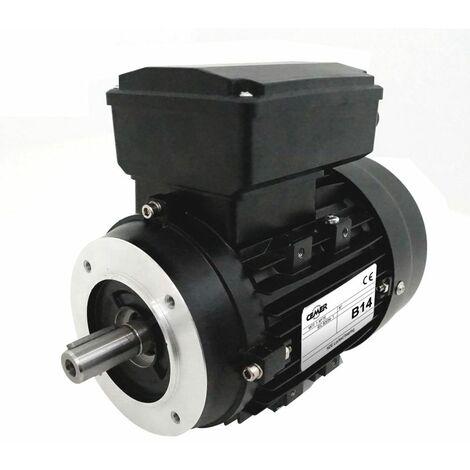 Moteur electrique 0,37 kW 1500 tr/min 220V monophasé CEMER ML - Bride B14