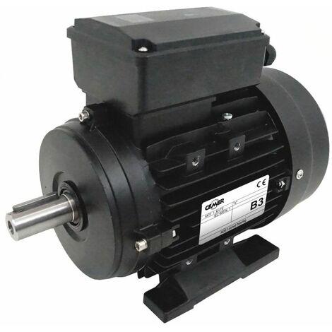 Moteur electrique 1,1 kW 1500 tr/min 220V monophasé CEMER MY