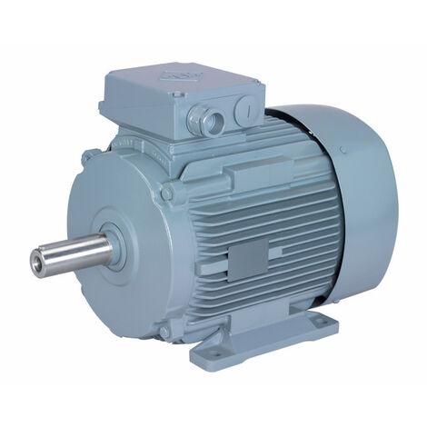 Moteur electrique 1,1 kW 3000 tr/min 230/400V triphasé VEM K21R - carcasse fonte