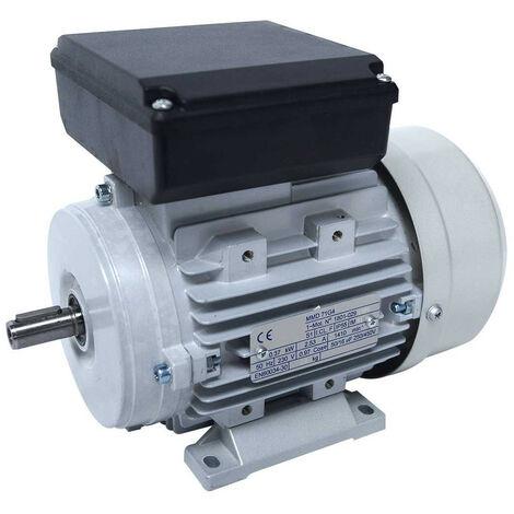 Moteur electrique 220v 0.37kW 1500 tr/min - B3