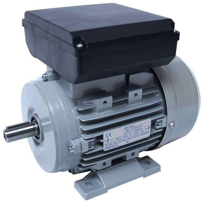 Moteur electrique 220v 0.55kW 1000 tr/min - B3