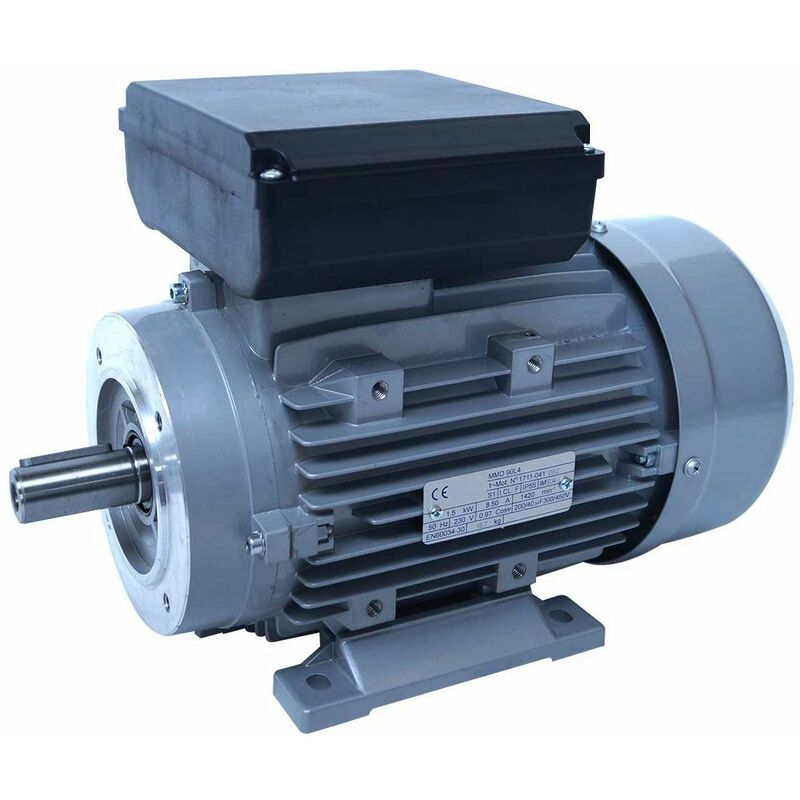 Moteur electrique 220v 0.75kW 1000 tr/min - B14