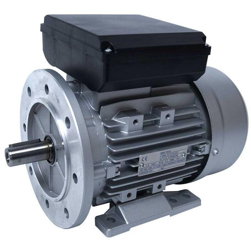 Moteur electrique 220v 0.75kW 1000 tr/min - B5